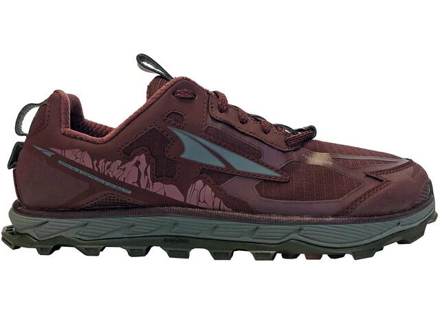 Altra Lone Peak 4.5 Shoes Dame dark port